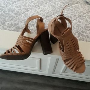 Merona tan sandals